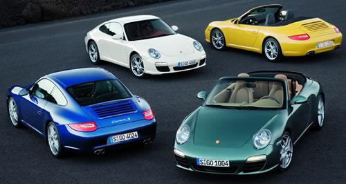 Porsche facelift photo 998 911